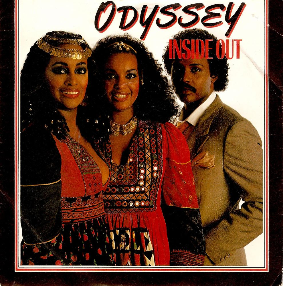 ODYSSEY Inside Out Vinyl Record 7 Inch RCA 1982